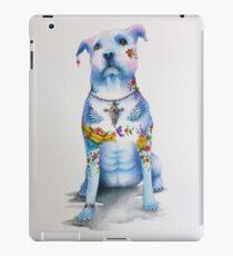 Pit Bull Tattoo Dog iPad Case/Skin