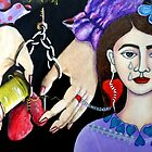 The woman with the wounded soul by Madalena Lobao-Tello