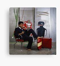 Jean-Michael Baquiat photograph  Canvas Print