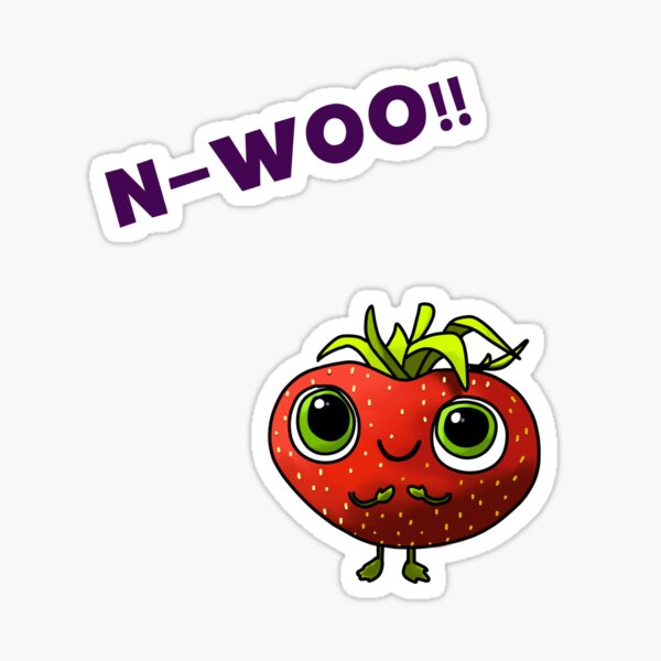 N-WOO - Barry - Cloudy with a chance of meatballs Sticker