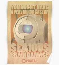 Portal Propaganda Poster - Wheatley Poster