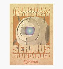 Portal Propaganda Poster - Wheatley Photographic Print
