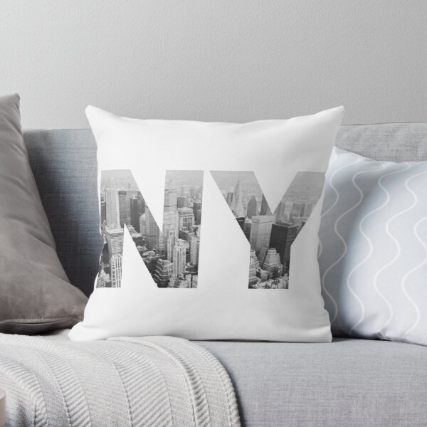 NY Throw Pillow