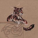 Fairy Tiger - all about the ear tufts by justteejay