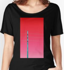 Telephone Pole (ViewsFromTheAether) Women's Relaxed Fit T-Shirt