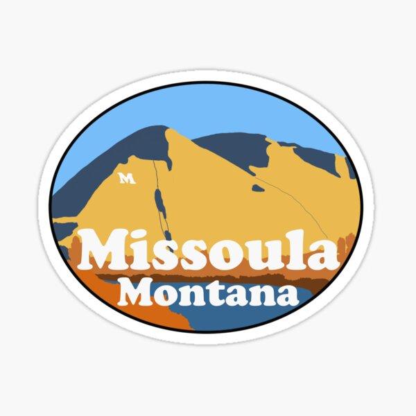 Missoula Montana Sticker