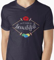 Make It Beautiful — Heathers: the Musical Men's V-Neck T-Shirt