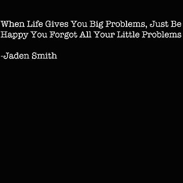 Jaden Smith- problems by dav956able