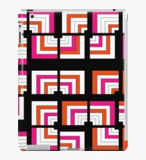 Funky Bright Bold Geometric Pattern iPad Case/Skin