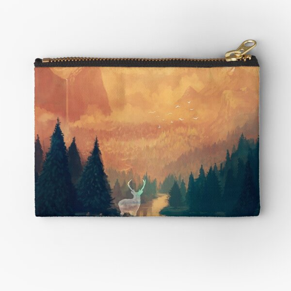 Forest Spirit Zipper Pouch
