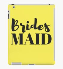 Bridesmaid Bachelorette Party Gifts iPad Case/Skin