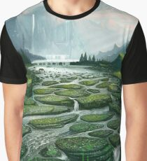 The Great Waterfall Graphic T-Shirt