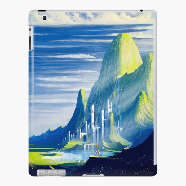Castle and lake iPad Snap Case
