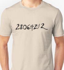 Donnie Darko Numbers T-Shirt