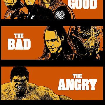 The Good, The Bad and The Angry by clarkielufc