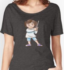 Backyard Star Wars - Princess Leia Women's Relaxed Fit T-Shirt