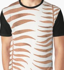 Palm Leaf – Rose Gold Graphic T-Shirt