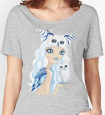 Owl Duchess Women's Relaxed Fit T-Shirt