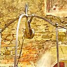 Pieve di Tho: well by Giuseppe Cocco