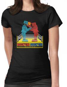 Rock'em Sock'em - 2D Original Punch Variant Womens Fitted T-Shirt
