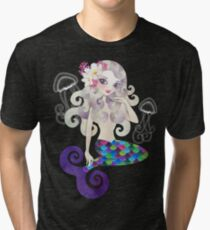Amethyste Mermaid Tri-blend T-Shirt