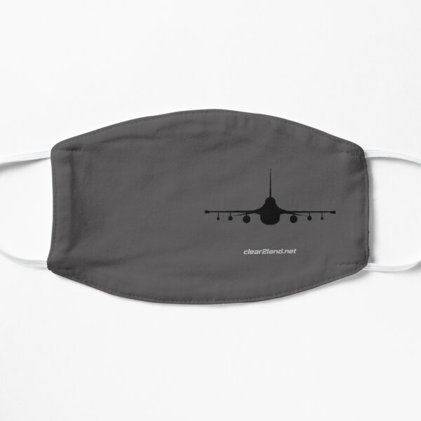 F-16 Clear2land Flat Mask