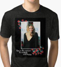 Stana Katic Tri-blend T-Shirt