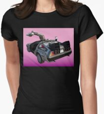 Delorean Women's Fitted T-Shirt