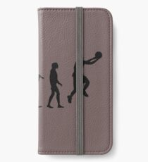 basketball evolution iPhone Wallet/Case/Skin