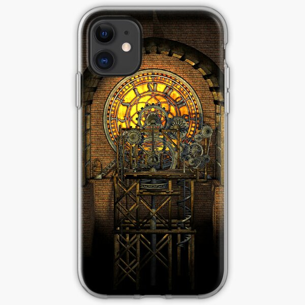 Inner Workings (Vintage Steampunk Clock) iPhone Soft Case