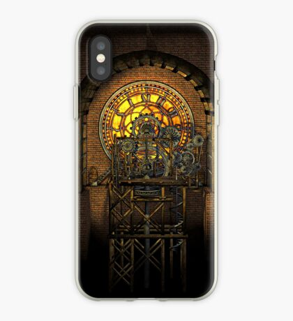 Inner Workings (Vintage Steampunk Clock) iPhone Case