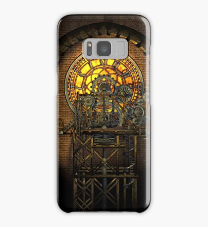 Inner Workings (Vintage Steampunk Clock) Samsung Galaxy Case/Skin