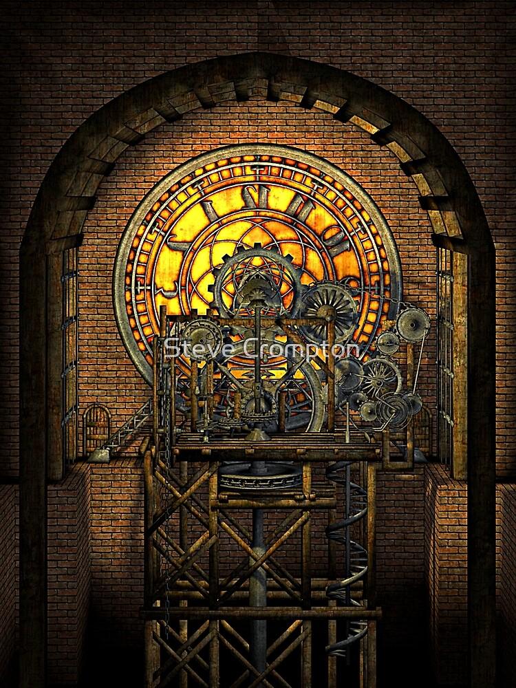 Inner Workings (Vintage Steampunk Clock) by SC001