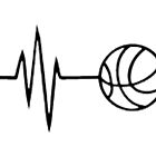 basketball heart beat by MonkeyDAla