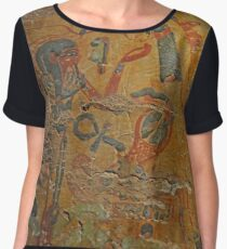 Ancient Egypt Chiffon Top