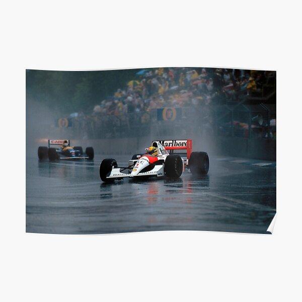 Wallpaper Ayrton Senna Poster