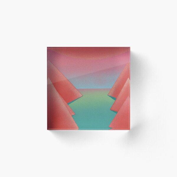 Beyond the Valley Acrylic Block
