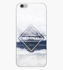 Hey Angel One Direction Lyrics iPhone Case
