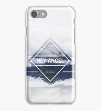 Hey Angel One Direction Lyrics iPhone Case/Skin