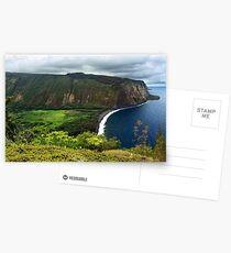 Waipio Valley Postcards