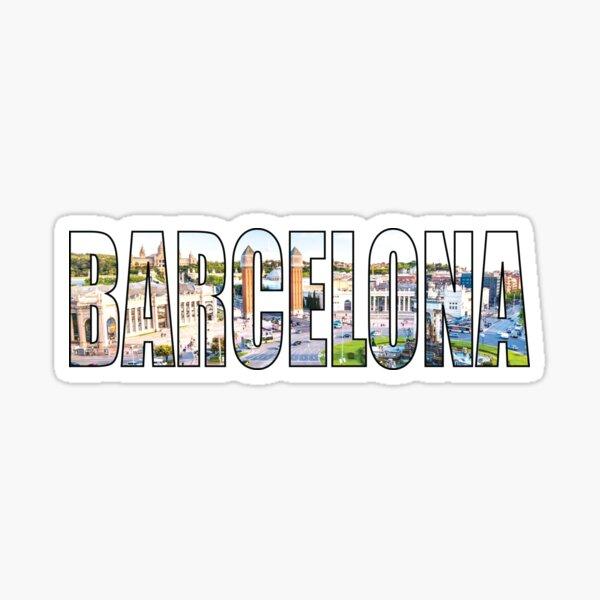Barcelona Sticker