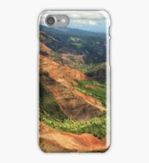 Waimea Canyon From The West iPhone Case/Skin