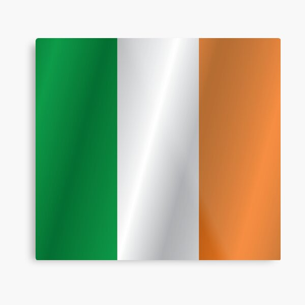 Ireland flag Metal Print