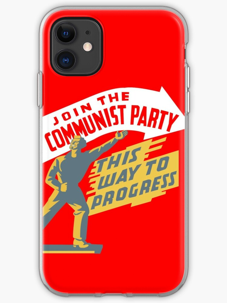 coque iphone 8 communism
