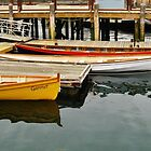 Gloucester Rowing Gigs by artwhiz47