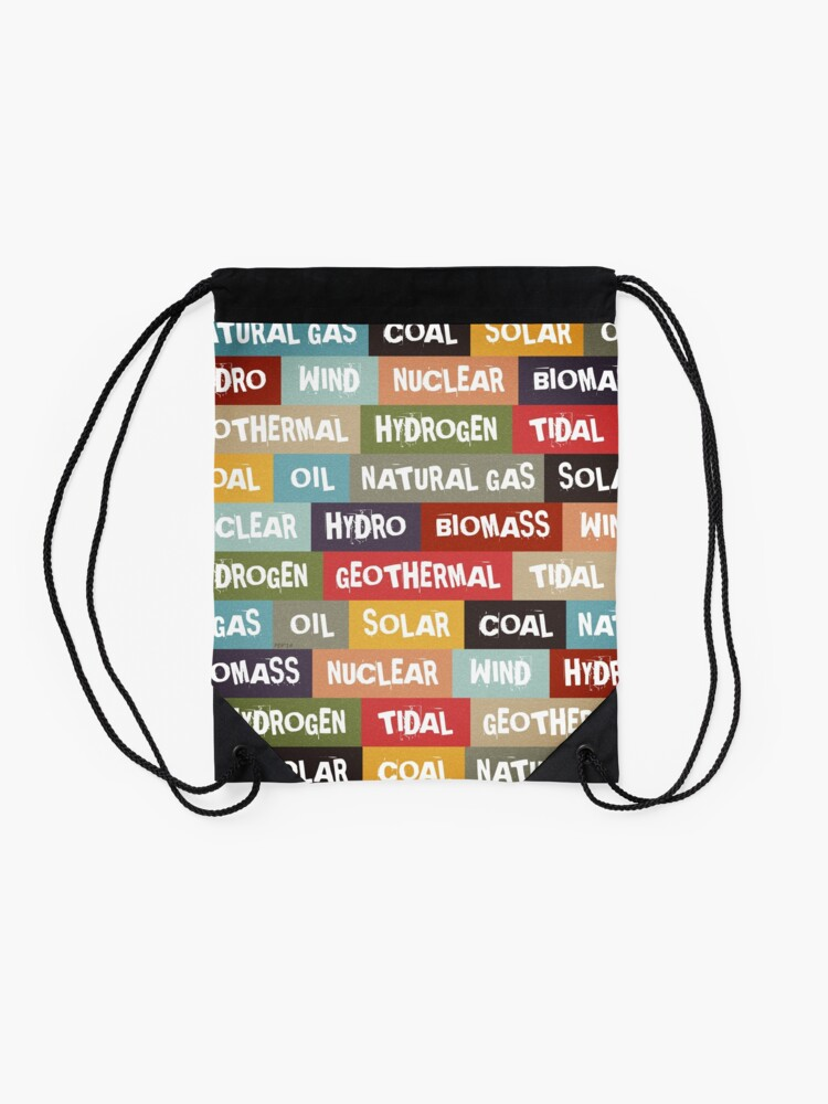 Alternate view of All Of The Above Drawstring Bag