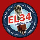 EL34 Electron Tubes by TheJesus
