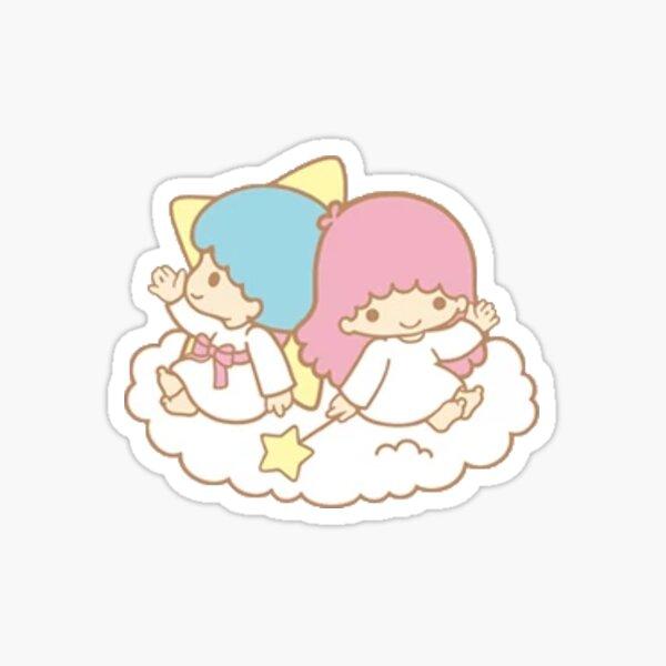 ángeles gemelos sanrio Pegatina