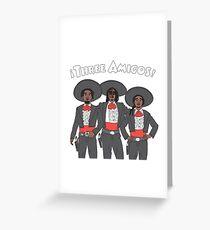 MIGOS - CARTOON STYLE  Greeting Card