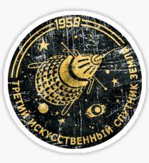Sputnik III 1958 V01 Sticker